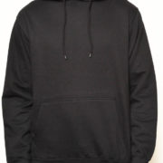 5001 Black Classic Pullover Hoodies (Heavy Weight)