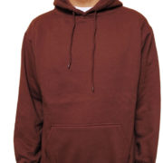 5001 Brown Classic Pullover Hoodies (Heavy Weight)