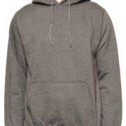5001 Heather-Charcoal Classic Pullover Hoodies (Heavy Weight)