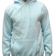 5001 Sky-Lightblu Classic Pullover Hoodies (Heavy Weight)