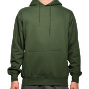 5108 Forest-Green Classic Pullover Hoodies (Heavy Weight)