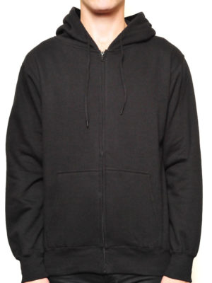 5109 Blackpremium Full Zip Hoodies