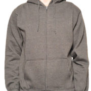 5109 Heather-Charcoal Premium Full Zip Hoodies