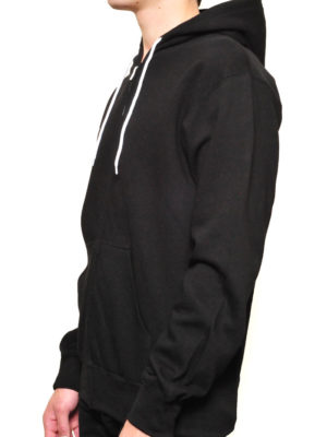 Black Ultra Full Zip Wholesale Hoodie