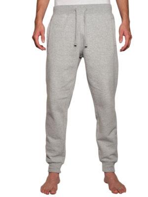 8801 Heather-Grey Fleece Joggers Pant