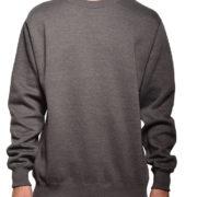 Cr280 Heather-Charcoal Crewneck Sweatshirt