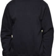 Cr280 Black Midweight Crewneck Sweatshirt