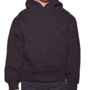 Y300 Black Youth Pullover Hoodies