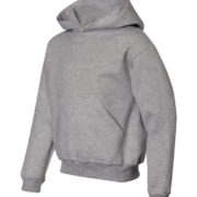 Y300 Heather-Grey Youth Pullover Hoodies