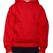Y300 Red Youth Pullover Hoodies
